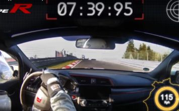La Honda Civic Type R 2017 fracasse un record sur le Nürburgring (Vidéo)