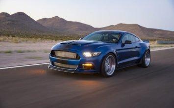 """Shelby dévoile un concept Super Snake """"Wide Body"""" de 750 chevaux"""
