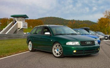 Audi S4 Avant 2001: verte, rare et séduisante
