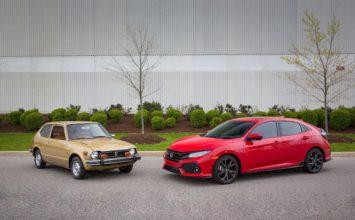 Honda Canada vend sa deux millionième Civic au pays