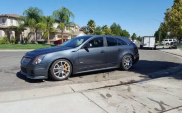 Cadillac CTS-V Sportwagon: la familiale idéale!