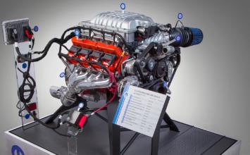 [SEMA] Les 707 chevaux du moteur Hellcat dorénavant disponibles en «crate»
