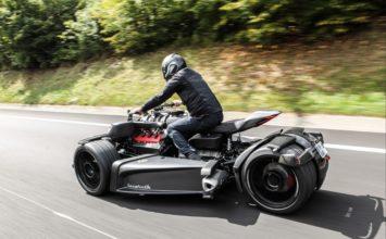 Wazuma V8M: entre la sportive italienne et le trois roues