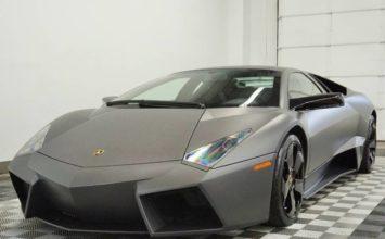La toute dernière Lamborghini Reventon est à vendre pour 1,7M US