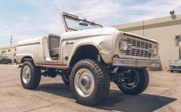 Ford Bronco 1966: un autre chef d'oeuvre signé Icon Derelict