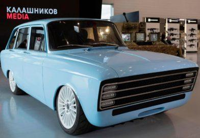 Kalashnikov présente un concept de véhicule électrique