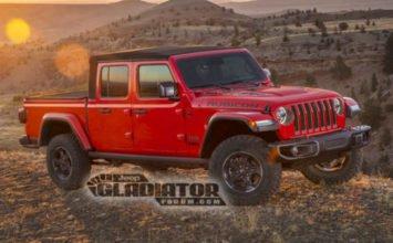 Voici le (supposé) nouveau Jeep Gladiator 2020!