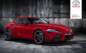 Deux photos additionnelles de la Toyota Supra 2020