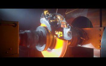 L'étrier Bugatti imprimé en 3D en titane sur le banc d'essai (Vidéo)
