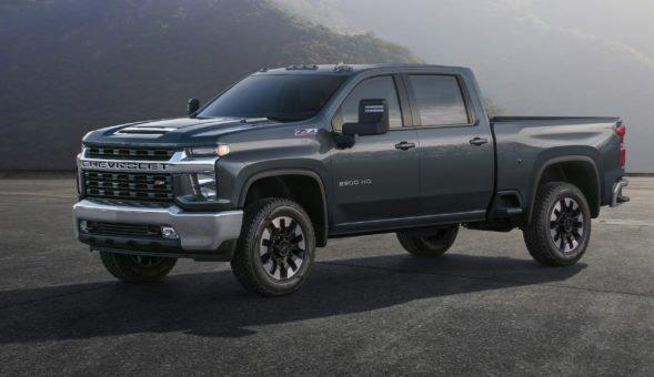 Voici le nouveau Chevrolet Silverado HD 2020