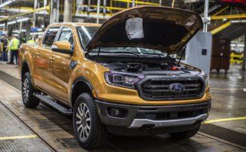Changement d'huile sur le Ford Ranger 2019: une roue doit être retirée (Mis à jour)