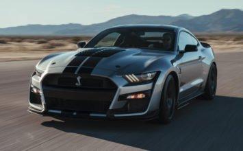La Ford Mustang Shelby GT500 2020 atterrit au Salon de l'auto de Détroit
