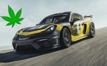 La carrosserie de la nouvelle Porsche 718 Cayman GT4 Clubsport contient du chanvre