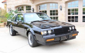 Une Buick GNX 1987…avec 14 kilomètres à l'odomètre
