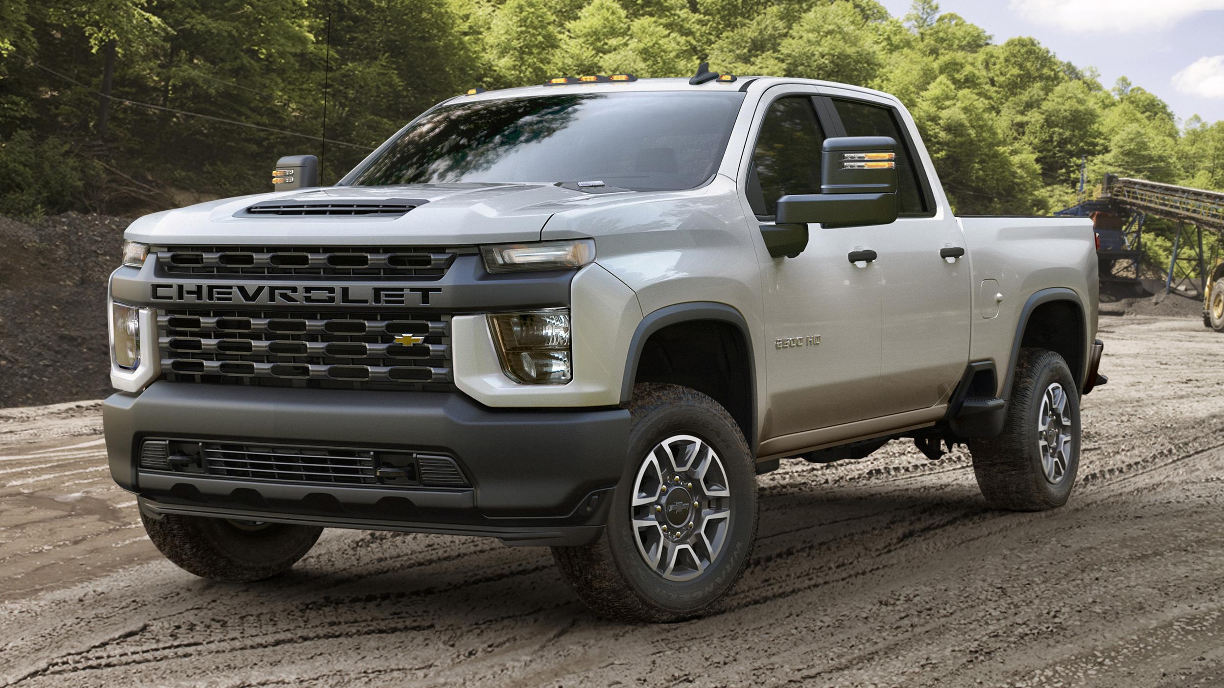 Chevrolet Silverado HD 2020: 35 500 livres de capacité de ...