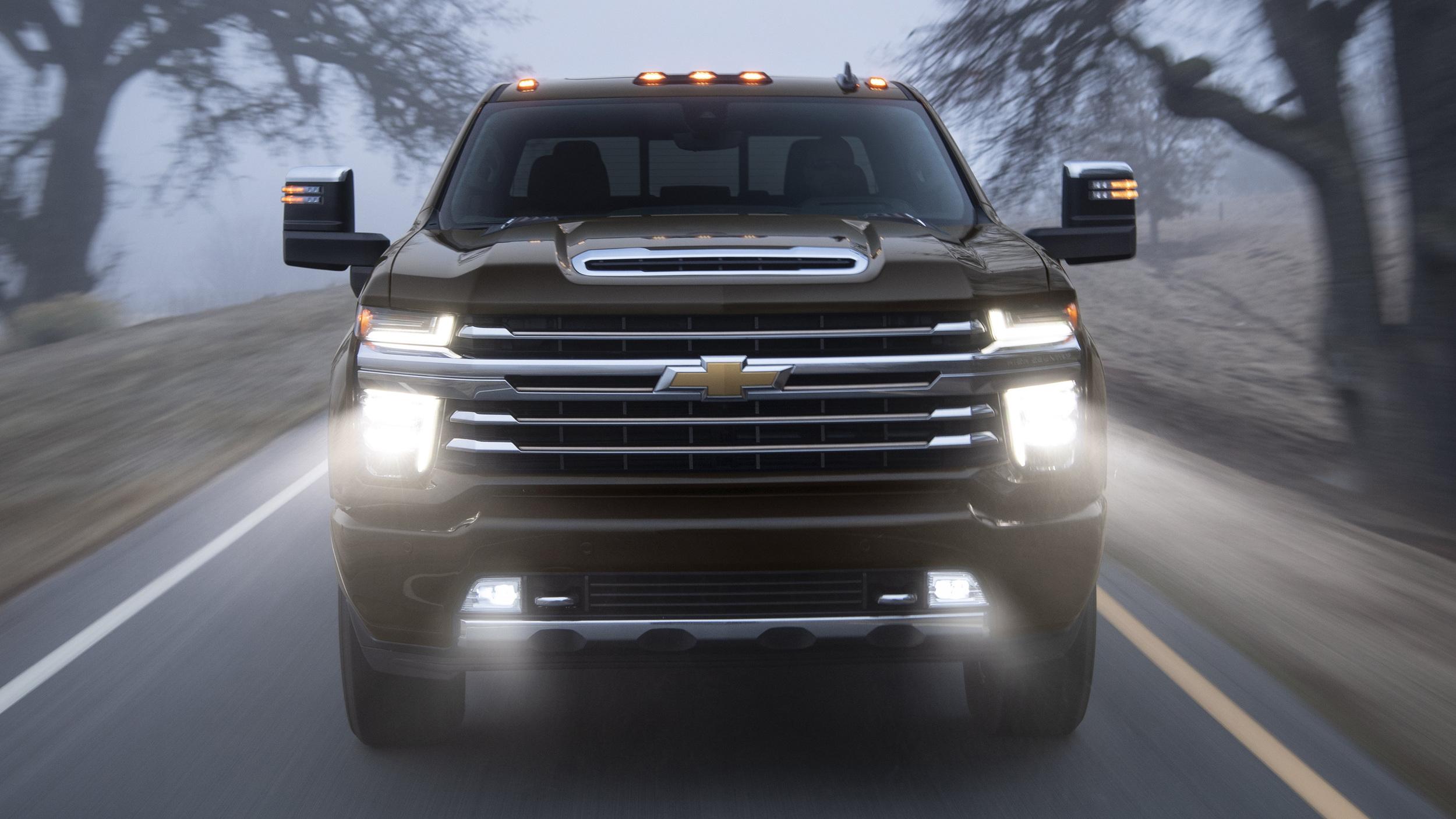 Chevrolet Silverado HD 2020: 35 500 livres de capacité de remorquage - Cartastic.ca