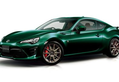 Toyota commercialisera cette 86 British Green Limited au Japon