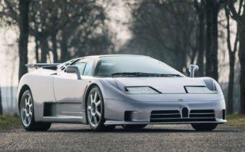 À vendre: La dernière Bugatti EB110 SS