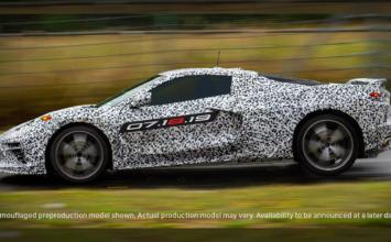 La Corvette 2020 à moteur central sera dévoilée en juillet