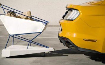 Ford dévoile… un panier d'épicerie intelligent ?