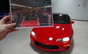 La dernière Chevrolet Camaro assemblée à Boisbriand est mise aux enchères