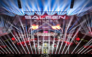 Saleen renaît en Chine lors d'un spectacle aussi grandiose que bizarre