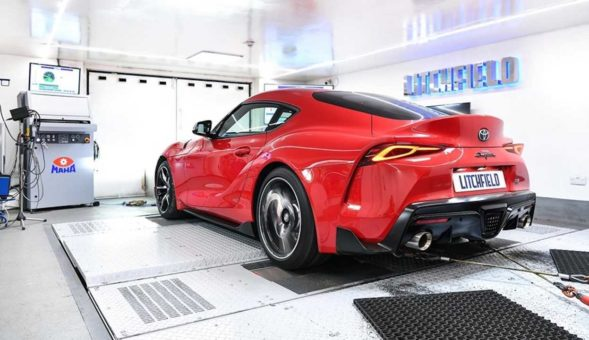 A simple ECU software brings the 2020 Toyota GR Supra to 400+ hp