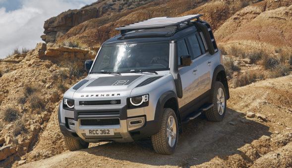 L'emblématique Land Rover Defender fait son retour officiel à Francfort
