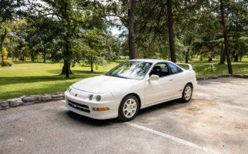 Une Acura Integra Type R 1997 avec moins de 10 000 kilos au compteur
