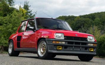 Une Renault R5 Turbo 2 « Type 8221 » 1985 aux enchères