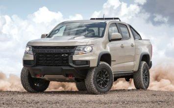 Chevrolet Colorado 2021: une petite refonte pour rester dans la course