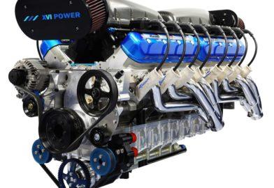 Le moteur Sixteen Power V16 de bateau sera adapté pour l'automobile (Vidéo)