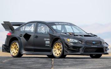 Une Subaru STI complètement démentielle pour le prochain Gymkhana