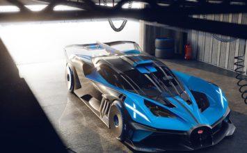 Bugatti Bolide Concept : et si je vous disais 0,67kg/ch?