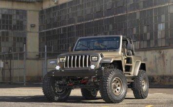 Jeep YJL : un Wrangler unique signé Quadratec