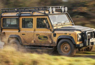 Land Rover Defender Works V8 Trophy : l'immortalité est payante